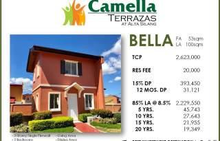 Bella Model At Camella Alta Silang At The Back Of Vistamall
